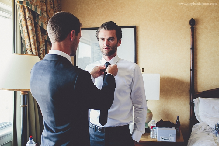"""groom dressing for wedding ceremony"""