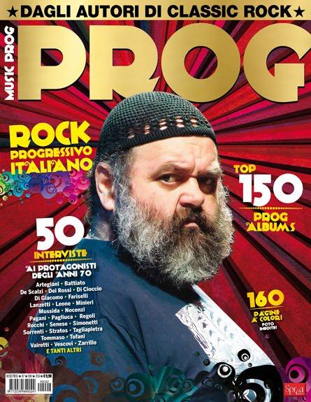 PROG ITALY - La prima rivista interamente dedicata al rock progressivo