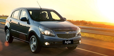 automovel Chevrolet Agile 2014