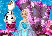 Frozen Elsa carriage wash