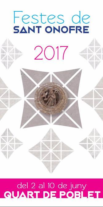 SANT ONOFRE 2017 QUART DE POBLET