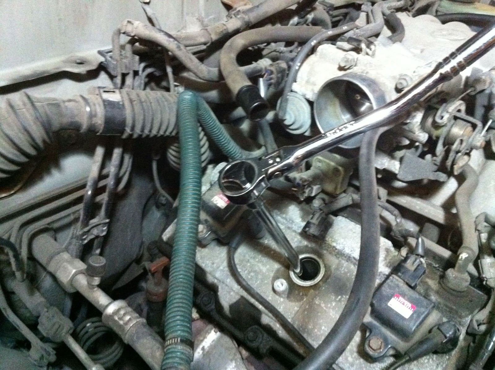 Experience Database Replacing 1999 Toyota 4runner Spark Plug 2000 Intake Torque 7 Now You Can Remove The Just Make Sure To Use A Regular Wrench Never Anything