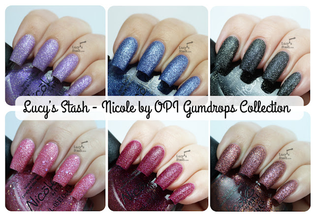Lucy's Stash - Nicole by OPI Gumdrops Collection