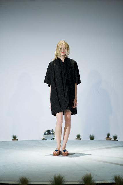 Nino Bollag SS13 black Dress