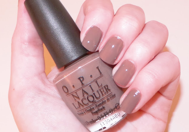 OPI Over The Taupe Nail Polish Swatch
