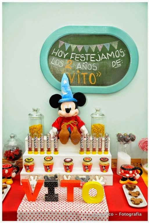 Decoración de Fiesta de Mickey Mouse
