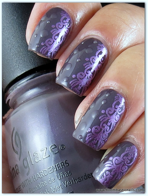 Boombastic Nails: Adventures In Stamping - Some Aspect of Matte