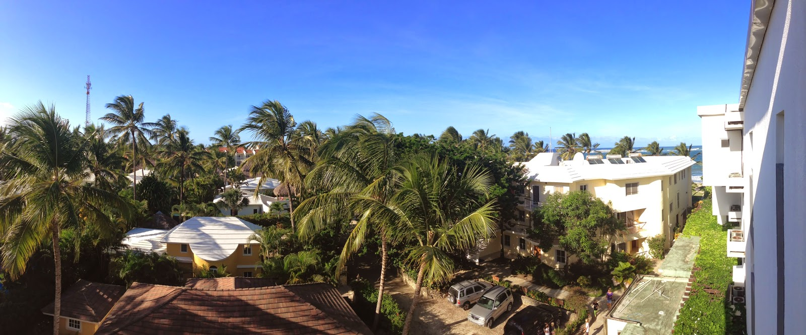 The View from my room at Millennium Resort & Spa in Cabarete, Dominican Republic