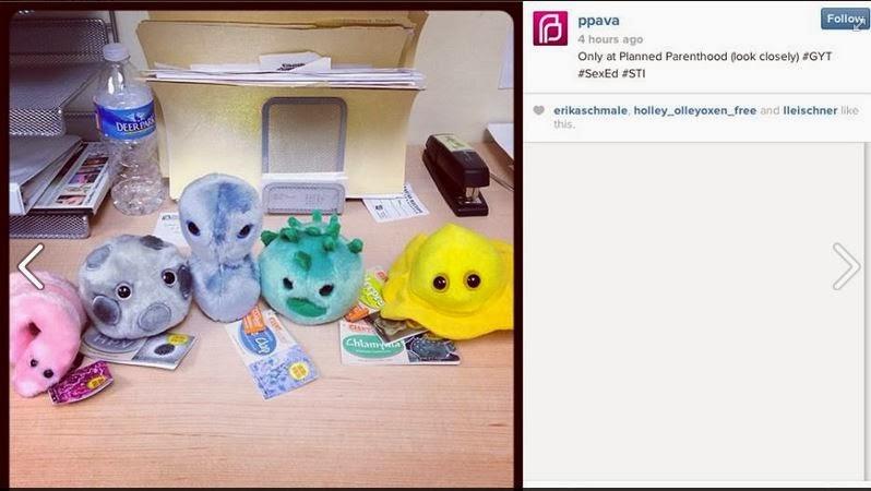 Stuffed Germ Toys 93