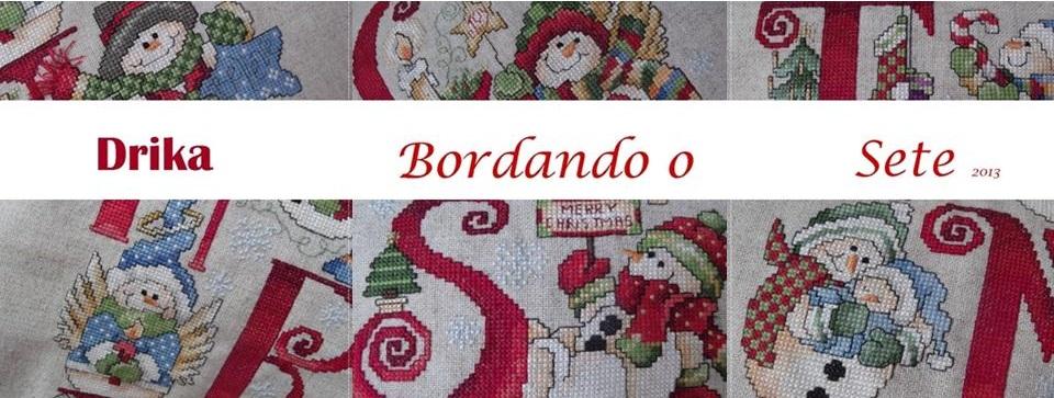 Drika Bordando o Sete