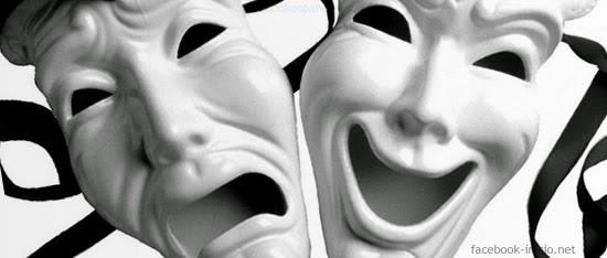 caras felices e infelices