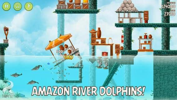 تحميل لعبة الطيور الغاضبة بأحد إصداراتها لأنظمة أندرويد وأي أو إس مجاناً Angry Birds Rio iOS-APK 2.0