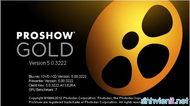 proshow gold 5.0 full crack sinhvienit