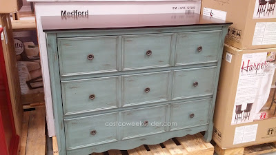 Stein World Medford Hand-Painted Accent Chest – For that unique look and a warm, cottage-like feel