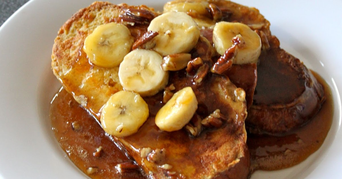 Baked Perfection: Bananas Foster French Toast