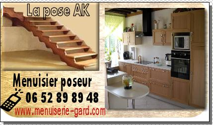 pose de cuisine dans le gard artisan menuisier poseur 06 43 74 83 97. Black Bedroom Furniture Sets. Home Design Ideas