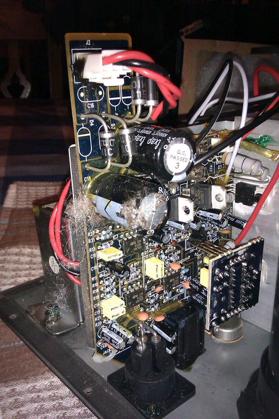 mending things: Mending a pair of M-AUDIO BX5a monitors on m-audio monitors, m-audio bx5, m-audio speakers, m-audio studiophile bx8, m-audio bx8a, m-audio mobilepre usb driver, m-audio dmp3,