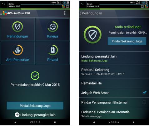 AVG Antivirus PRO Terbaru 4.4 Apk
