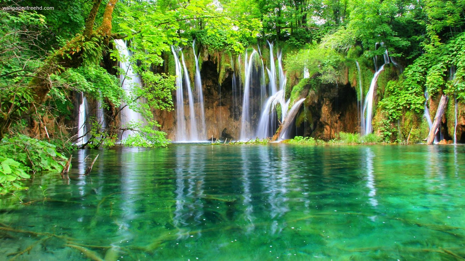 beautiful green waterfalls hd cool 7 hd nature wallpapers | hd