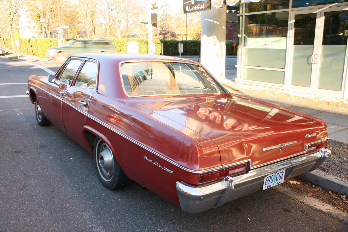 1966 Chevrolet Bel Air Sedan