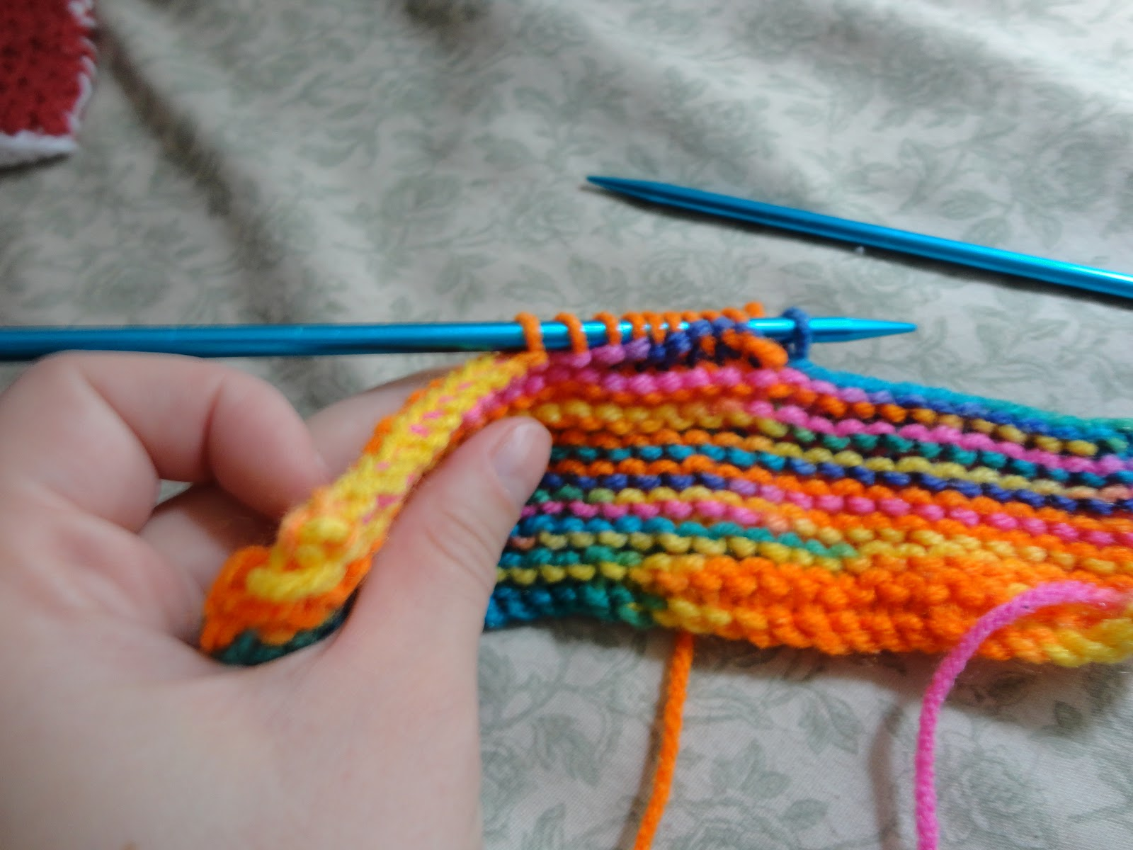 Binding Off Stitches In Knitting : Knitting, Sci-fi and other stuff...: Chaussons Mignons: A Photo Tutorial Asse...