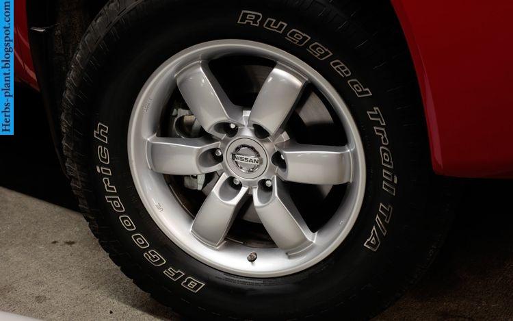 Nissan titan car 2013 tyres/wheels - صور اطارات سيارة نيسان تيتان 2013