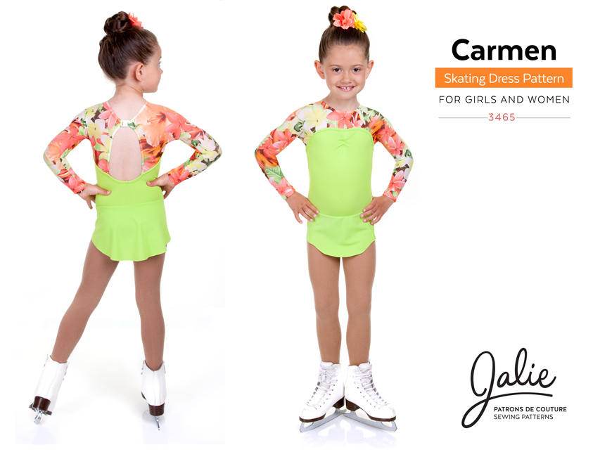 New Collection The Carmen Skating Dress