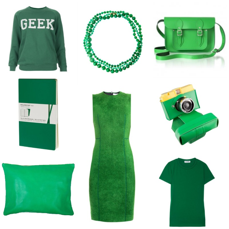 Emerald Green Trends Geek is new Chic