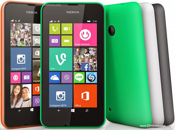 Nokia Lumia 530 Spec