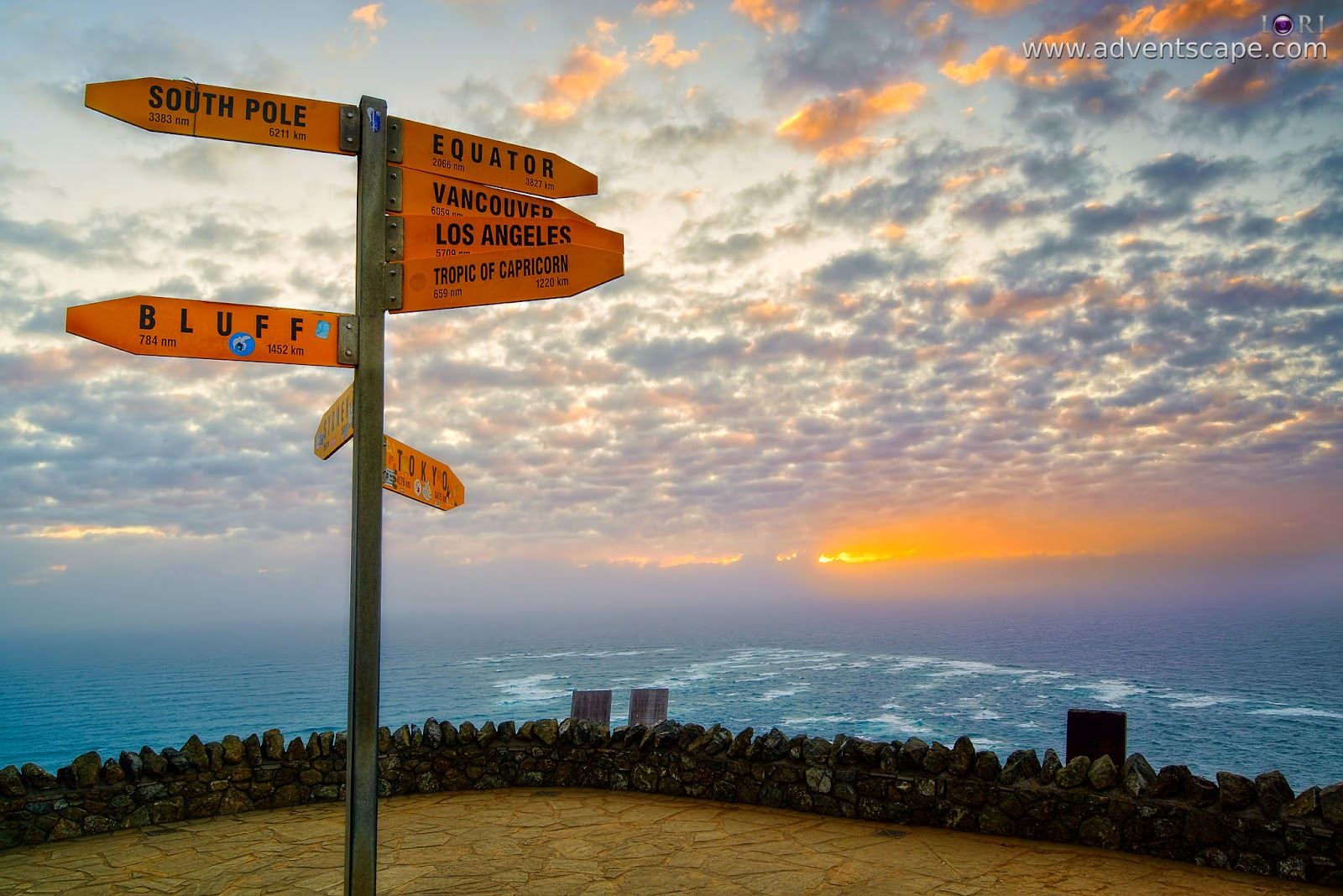 Philip Avellana, iori, adventscape, Cape Reinga, NZ, New Zealand, Te Paki, national park, lighthouse, landscape, seascape, sunset, north island, directions, famous places