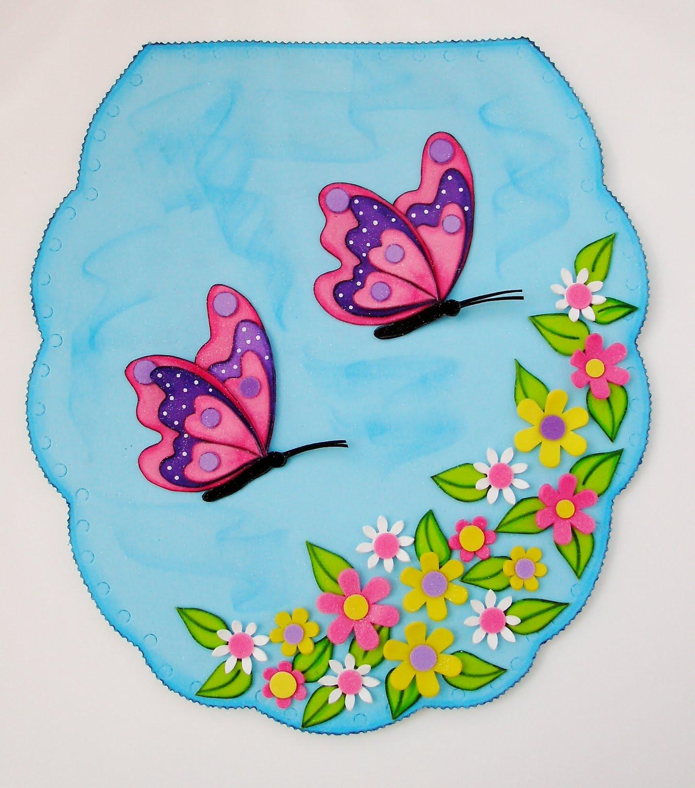 GuelaFoami: J. de Baños, Mariposas al viento