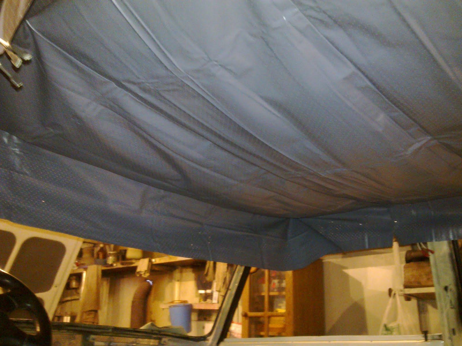Замена обшивки потолка ВАЗ классики О Ладе 11