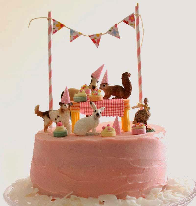 ideas para decorar tus tartas y pasteles