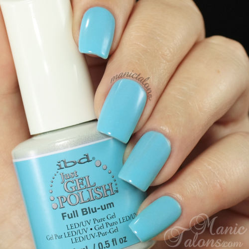 IBD Just Gel Full Blu-um Swatch