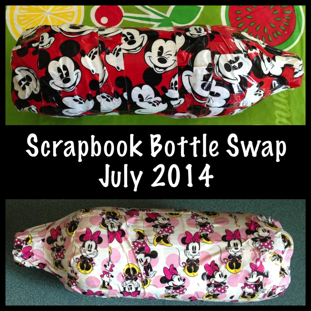 My Disney Life Scrapbook Bottle Swap July 2014