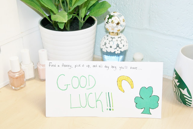 Katherine Penney Chic Life Good Luck Exams Card Boyfriend Cute