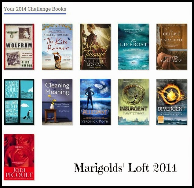 Goodreads challenge read books