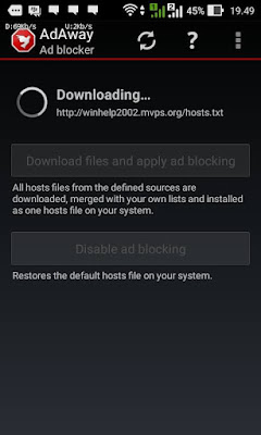 AD Blocker Root Asus Zenfone 4 Lollipop