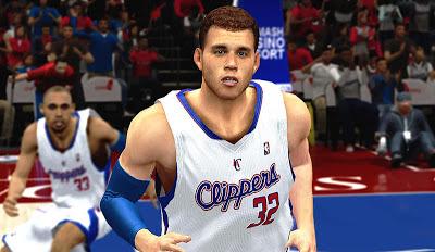 NBA 2K13 Blake Griffin Cyberface Mod