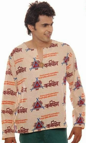 Snaskrit written kurta