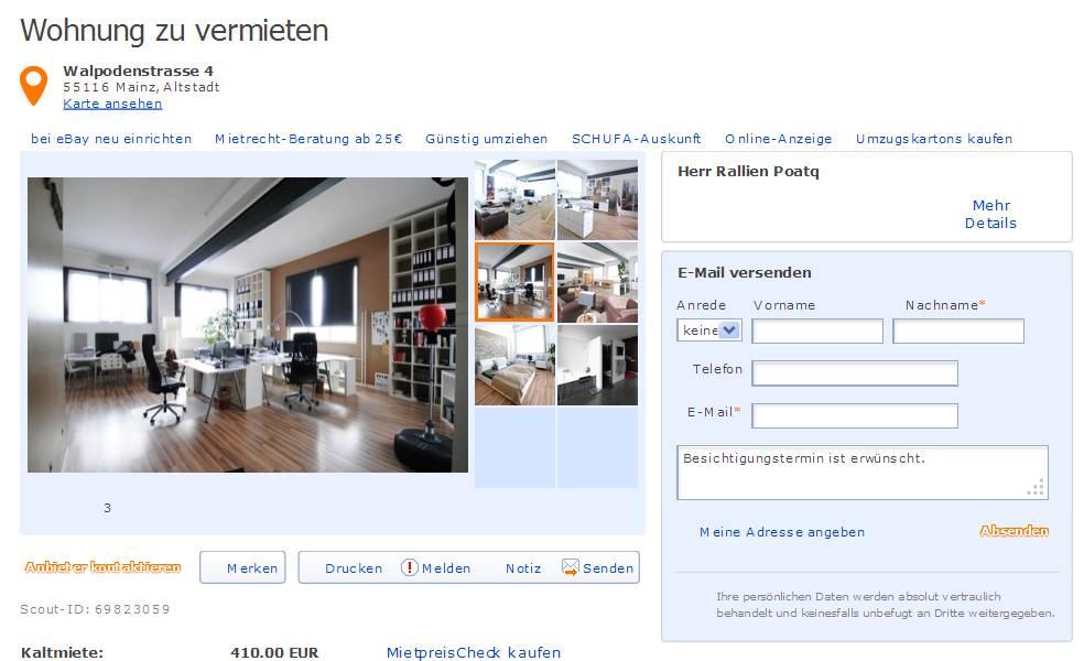 chris birch informationen ber wohnungsbetrug. Black Bedroom Furniture Sets. Home Design Ideas