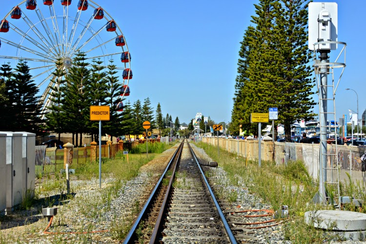 Fremantle Western Australia railway