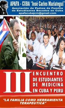 III ENCUENTRO NACIONAL DE ESTUDIANTES DE MEDICINA BECADOS EN CUBA