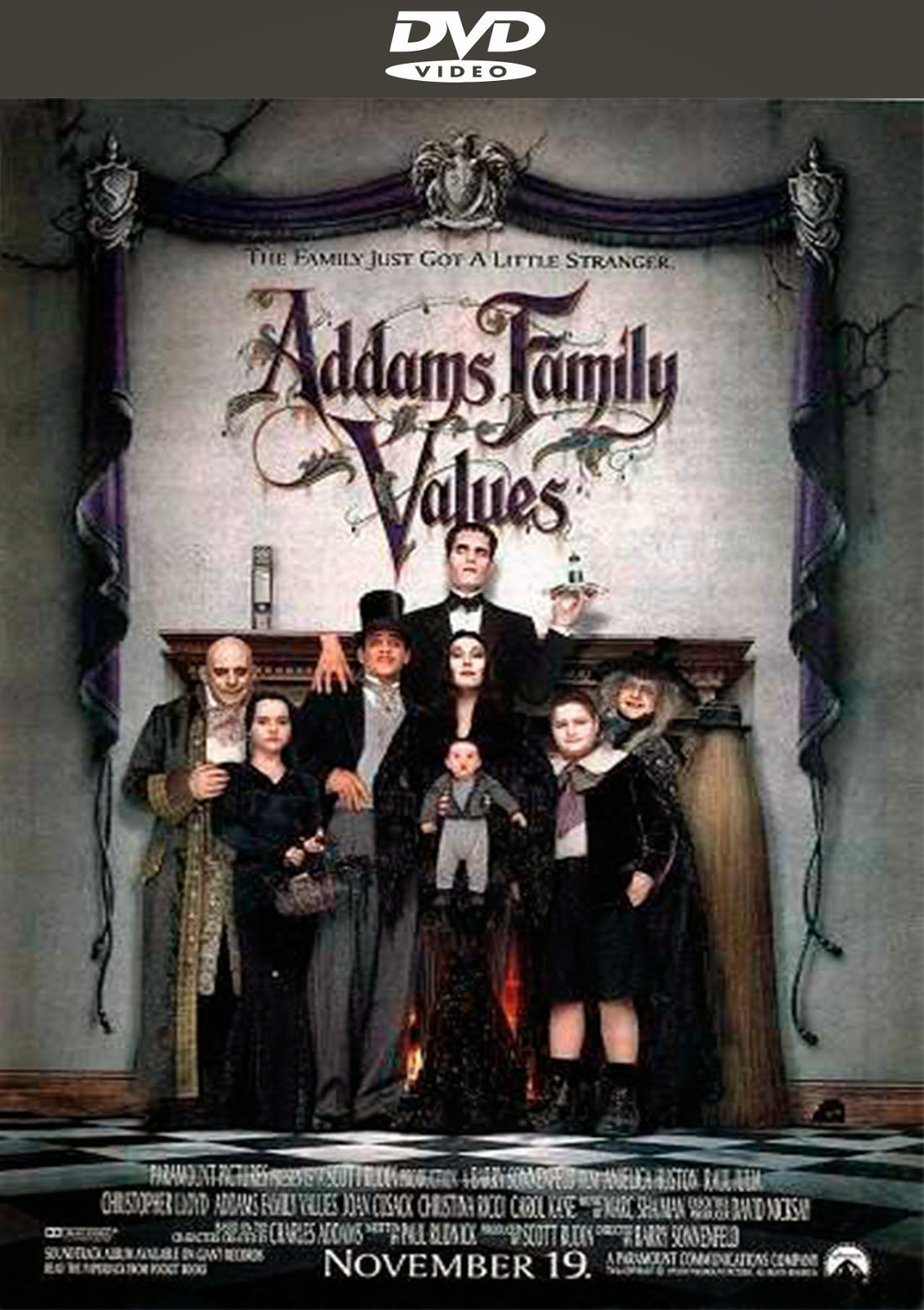 Addams Family Values [1993] [Latino] [DVD Full]