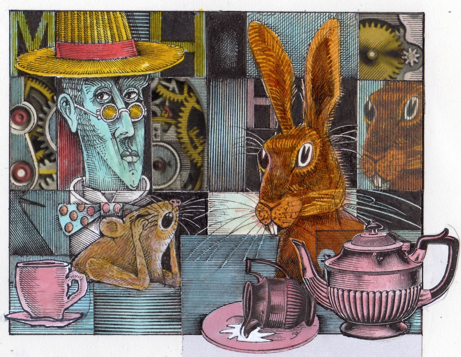 Hatter Dormouse And Hare