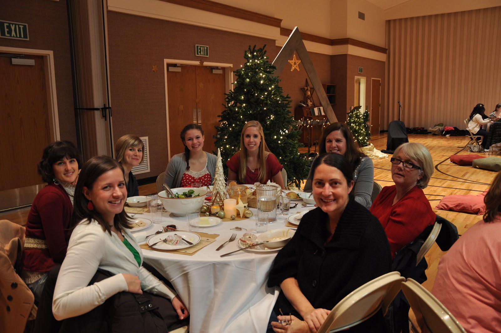 Relief Society Christmas Party Ideas Part - 27: McGannTribe Blog