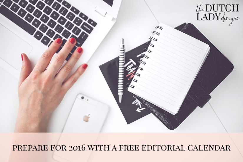 free editorial calendar for bloggers