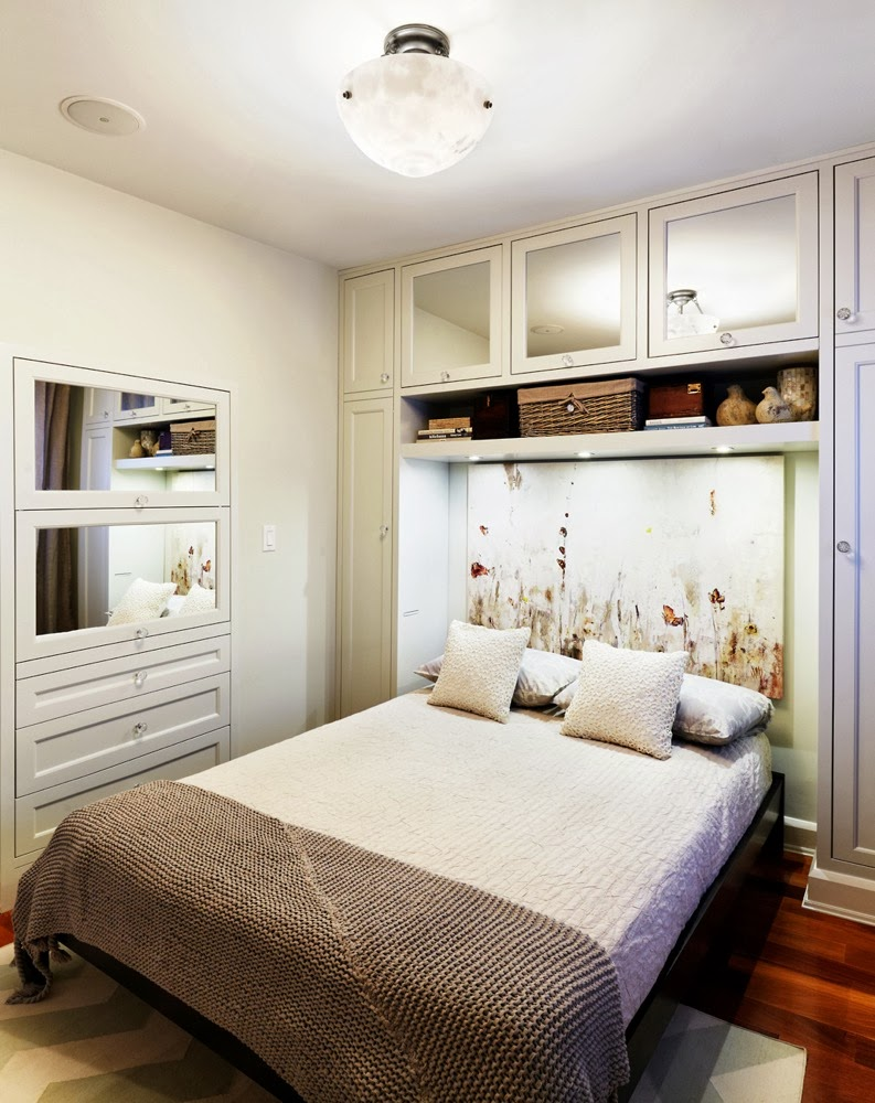 Small Bedroom Design With Hidden Storage Stunning Small Bedroom Design