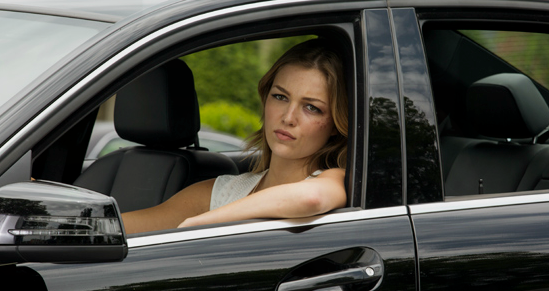 photo of Lili Simmons  - car