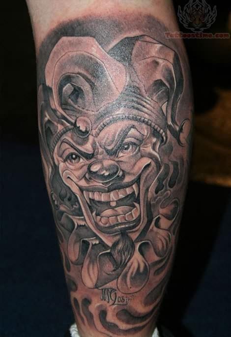 Lopez Joker Tattoojpg